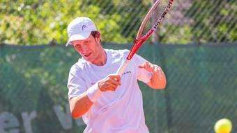 Martin Vacek gewann gegen Nyon sein erstes Einzel in dieser Saison für Froburg Trimbach.