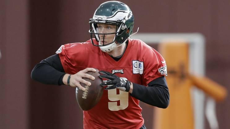 Nick Foles soll die Eagles zum ersten Super-Bowl-Triumph führen.