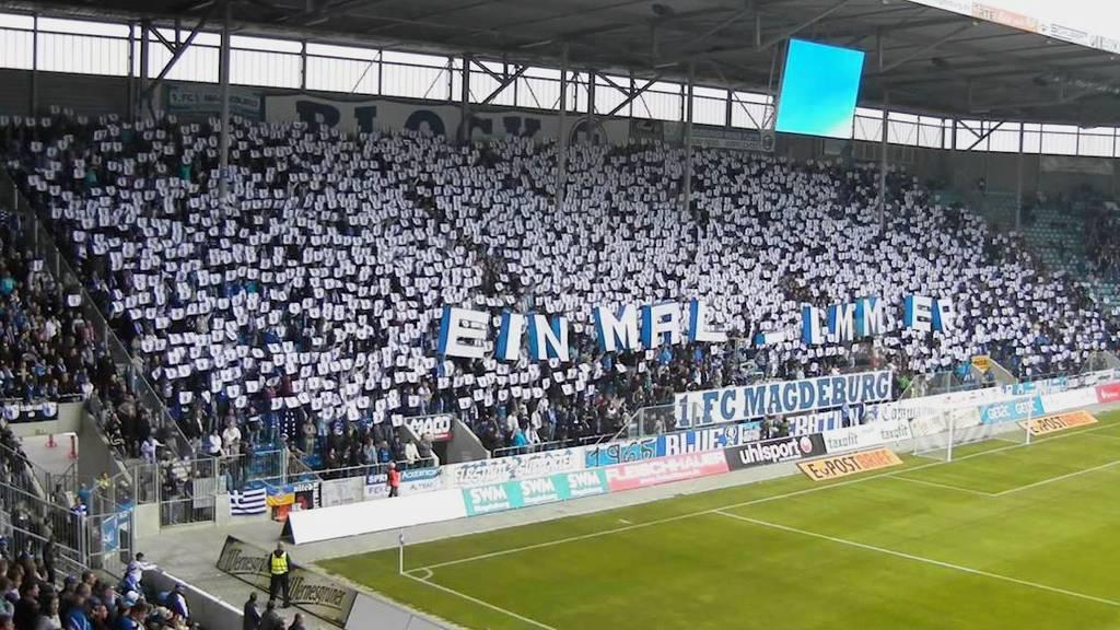 Den Fans des 1. FC Magdeburg wurde ein Hüpfverbot im eigenen Stadion auferlegt.