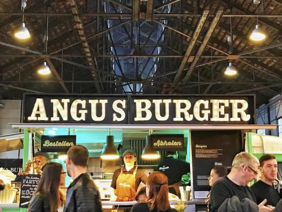 Burger, Fisch oder Nudeln: Für jeden Geschmack war etwas dabei.