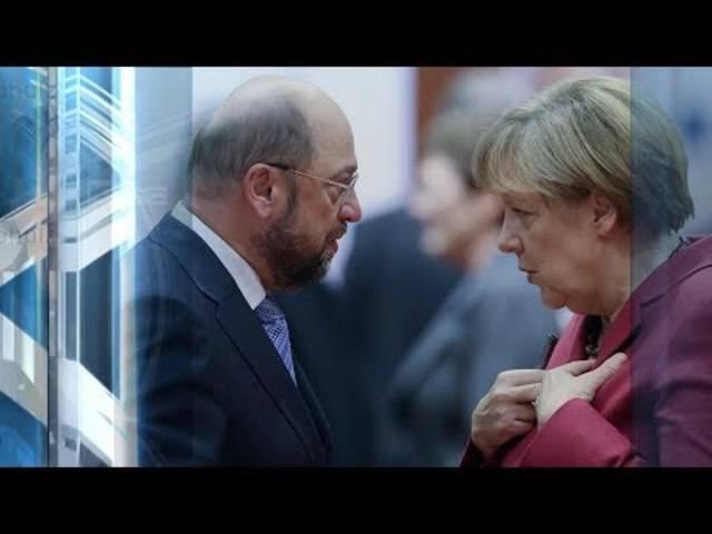 Das TV-Duell Merkel – Schulz