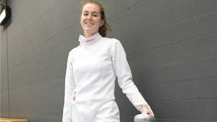 Die Meisterschaft findet nur wenige Meter entfernt von Fiona Hatz' Trainingsraum statt.
