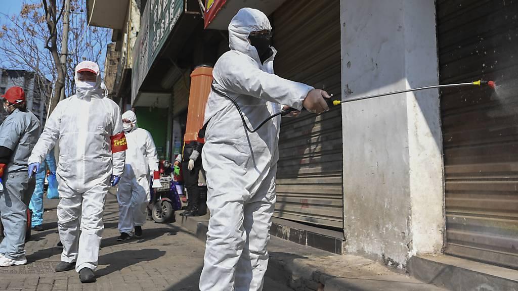 Coronavirus: Wieder fast 100 neue Todesopfer in China