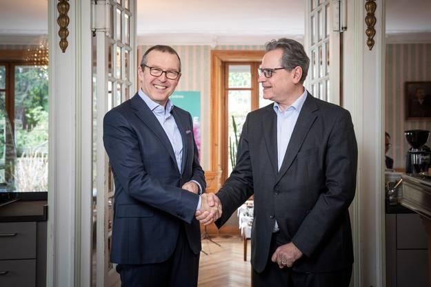 Markus Hongler und Michael Häfliger