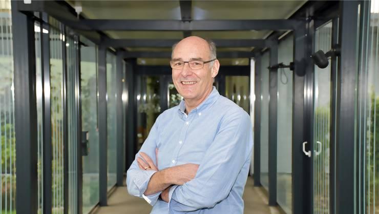 Lindenpark-Geschäftsführer Ralph Bürge: Nach 100 Tagen stellten ihm die Spitex-Klienten ein gutes Zeugnis aus.