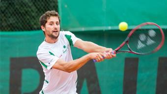 In der vergangenen Interclub-Saison gewann Sandro Ehrat alle Einzel-Partien, die er für den TC Froburg Trimbach absolvierte.