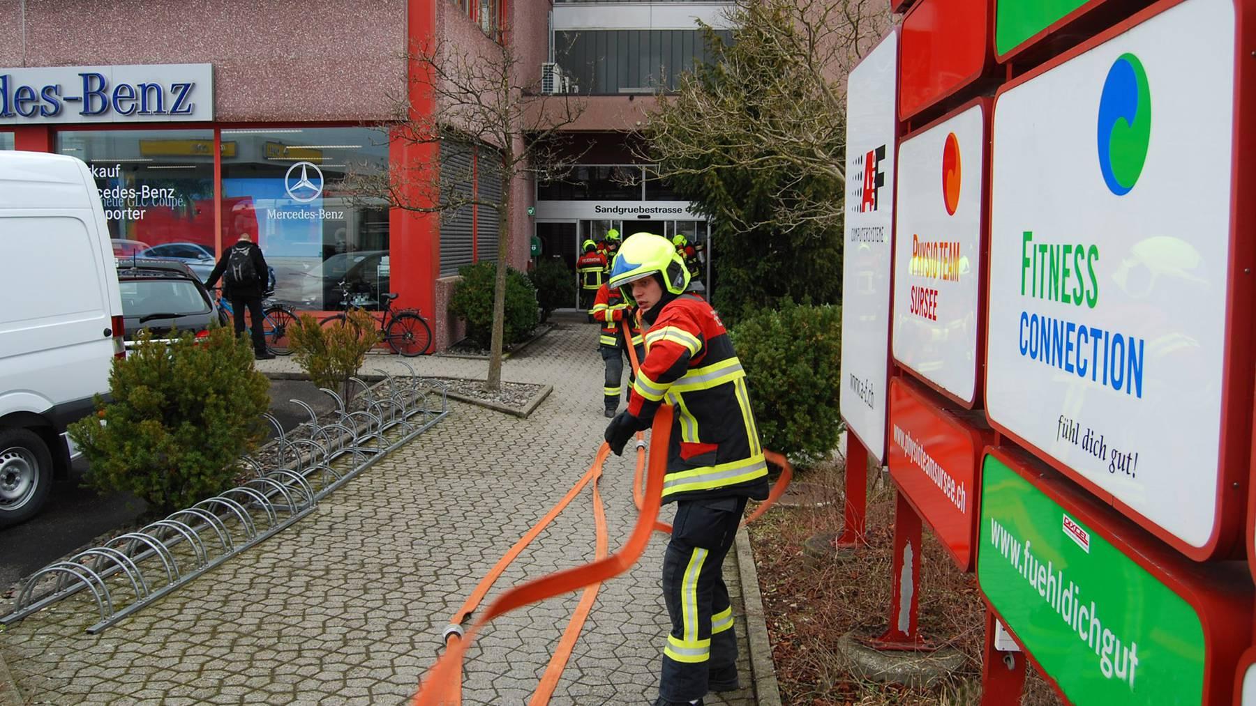 Brand in Sursee wegen Schweissarbeiten
