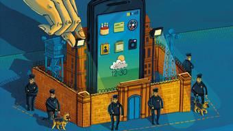 Die grossen Tech-Unternehmen bauen digitale Festungen im Internet, damit wir uns dort sicher und sorglos bewegen können.