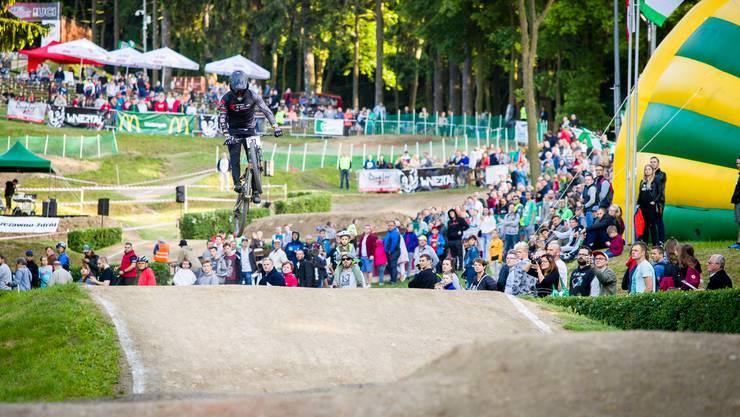 Simon Waldburger beim Qualifikationslauf in Polen