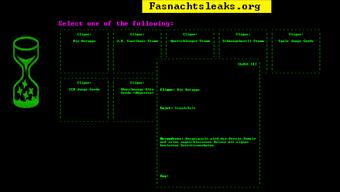 Auf der Webseite fasnachtsleaks.org veröffentlichen Anonyme geheime Cliquensujets der kommenden Fasnacht.