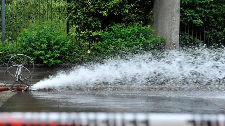 Rohrbruch in Gebenstorf - 80 Haushalte waren davon betroffen (Symbolbild)