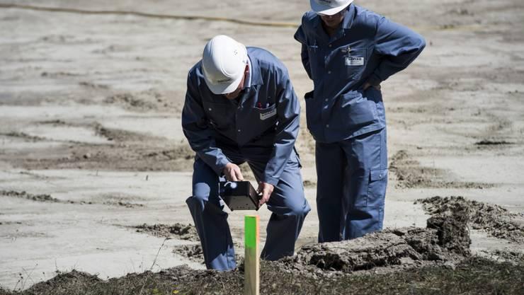 Messungen haben ergeben, dass die Mehrheit der untersuchten öffentlichen Flächen zwischen Niedergesteln und Gamsen nicht sanierungsbedürftig sind.