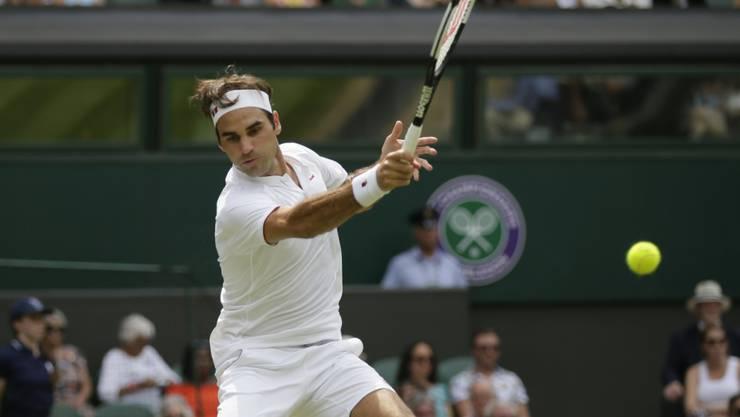 Roger Federer spielt in Cincinnati seinen ersten Match seit Wimbledon