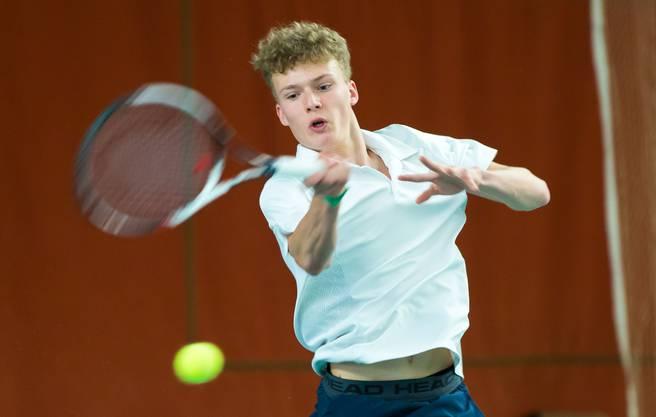 Auch Luc Hoeijmans hat via Qualifikation die zweite Runde erreicht.