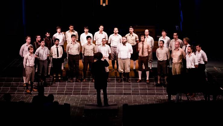 Ist der Markt nicht übersättigt? Hier im Bild der Basler Männerchor «Männerstimmen» als er die Chor-Olympiade gewann.