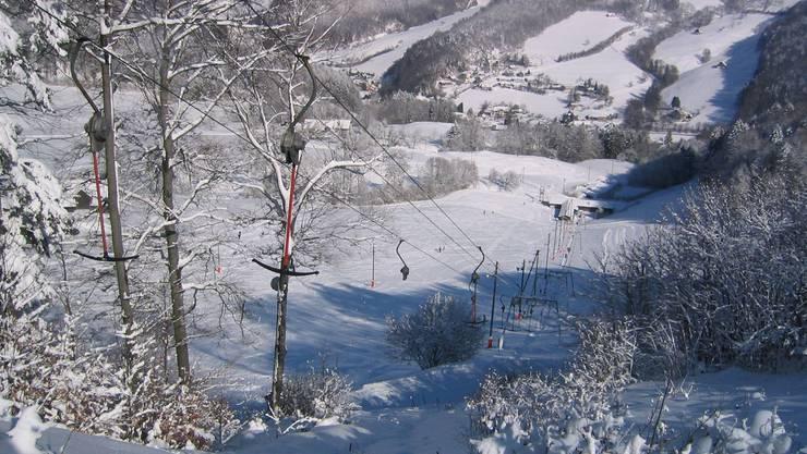 In Langenbruck sollen die Skilifte am Wochenende öffnen.
