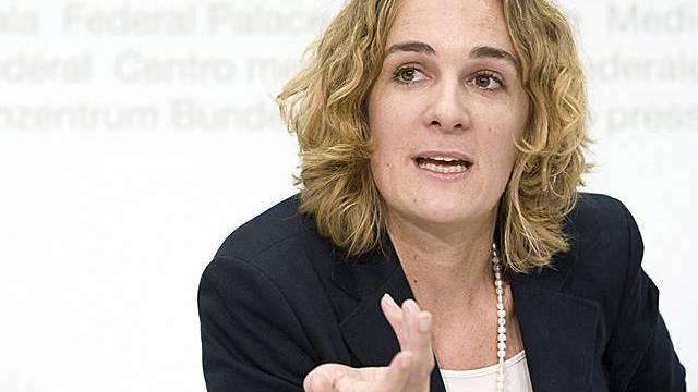 Ursula Wyss: Schweiz muss in die Offensive gehen (Archiv)