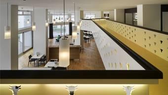 Ein Blick in das sanierte und erweiterte Urdorfer Alterszentrum Weihermatt. Roger Frei