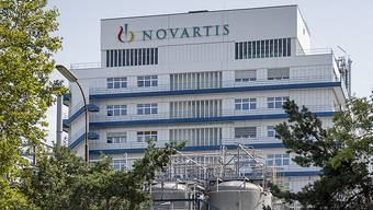 Novartis-Werk in Stein.