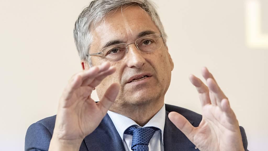 Der Luzerner Regierungsrat Guido Graf amtet neu als Präsident der Zentralschweizer Gesundheitsdirektorinnen- und -direktorenkonferenz. (Archivbild)