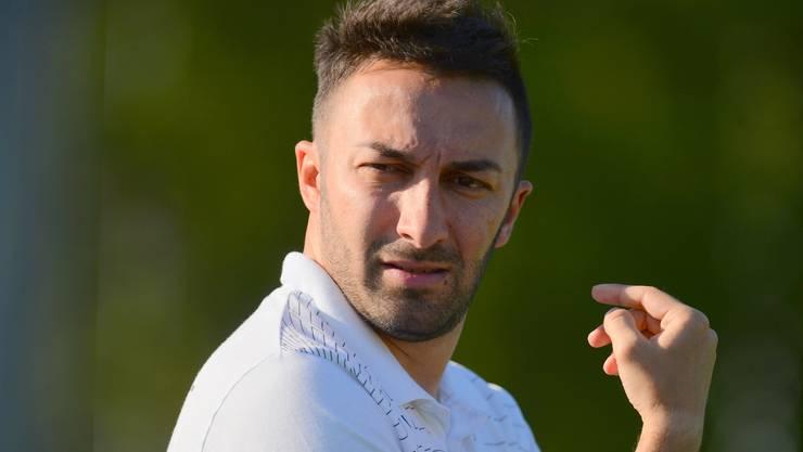 Der 36-jährige Vincenzo Salerno führte den FC Biberist erstmals l in der Klubgeschichte in die 2. Liga inter.