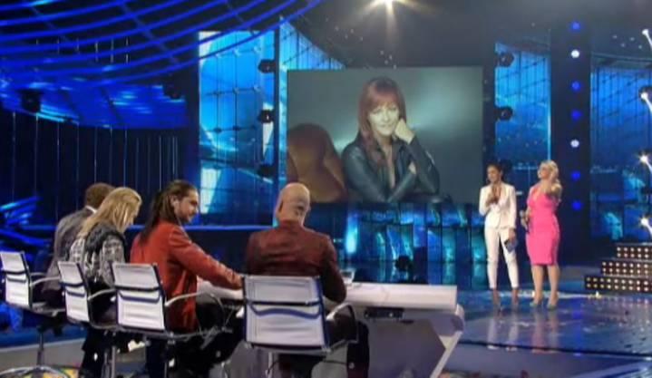 Per Telefon wurde Schlager-Superstar Andrea Berg zugeschaltet.