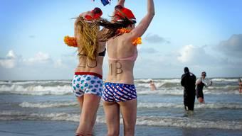 Hier frösteln sich die Holländer ins 2013