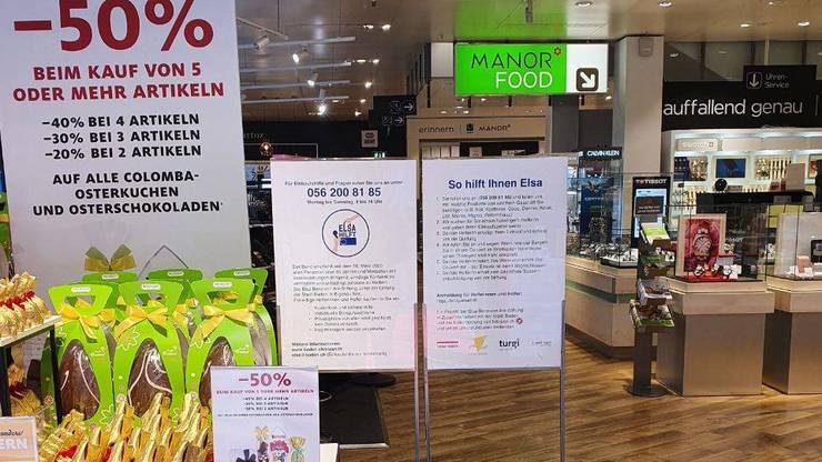 Auch das lokale Gewerbe zieht mit: «Elsa hilft» soll möglichst vielen gefährdeten Personen den Gang in die Geschäfte ersparen.