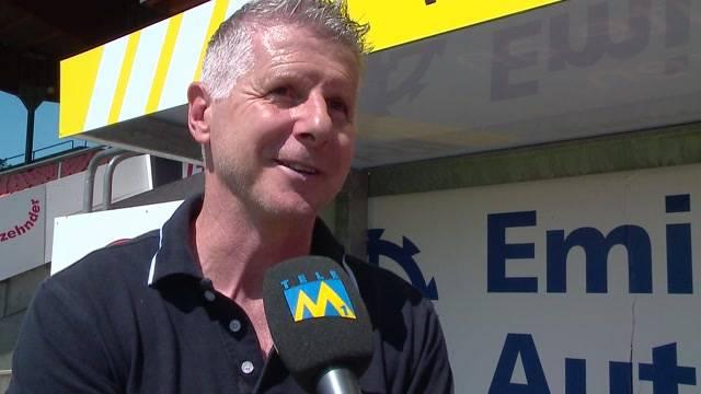 Livio Bordoli, neuer FCA-Trainer: Der Vertrag ist unterzeichnet. Der neue Trainer stellt sich vor und steht für den Fokus Rede und Antwort. Zieht er nach Aarau? Wie wird er trainieren? Und was hat er mit Delphinen am Hut?