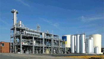 So könnte die geplante Biodiesel-Anlage in Bad Zurzach einmal aussehen. Quelle: Green Biofuel