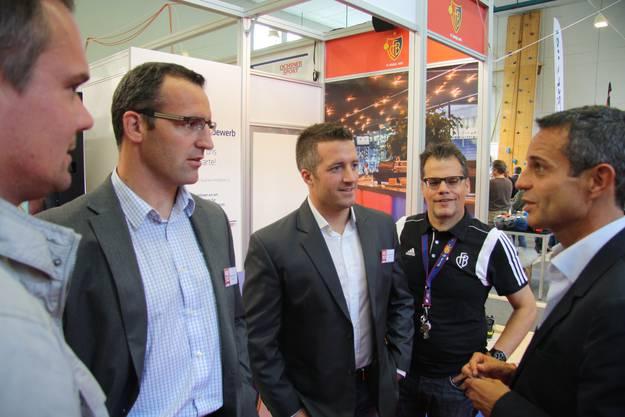 Das HESO-OK im Gespräch mit dem FCB-Präsidenten