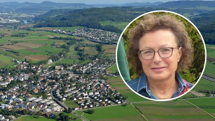 Für Gisela Taufer zeichnet sich Zeiningen durch eine sonnige Wohnlage mit einer ausgezeichneten öV-Anbindung aus.