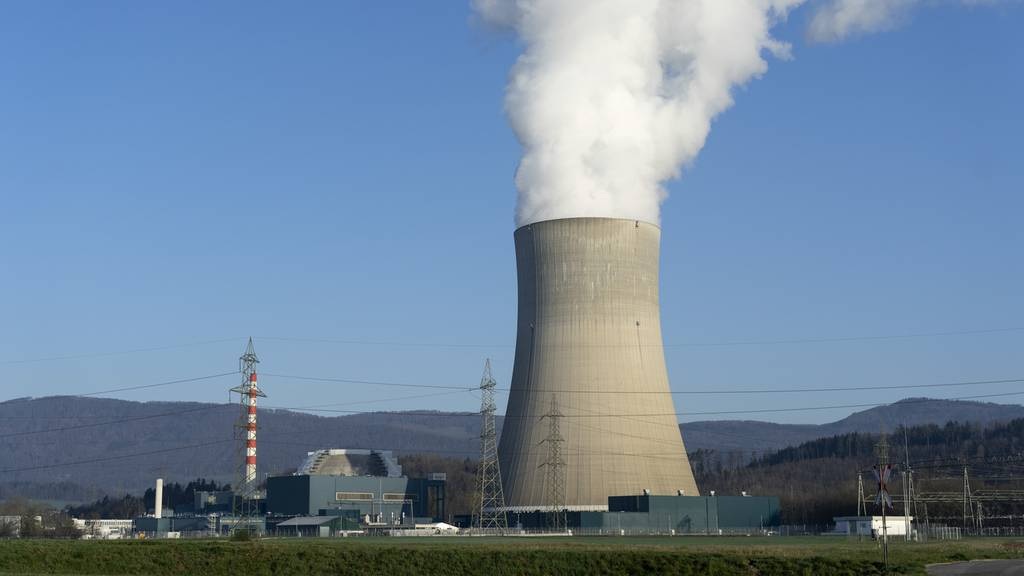 Das Kernkraftwerk Gösgen ist wieder am Netz