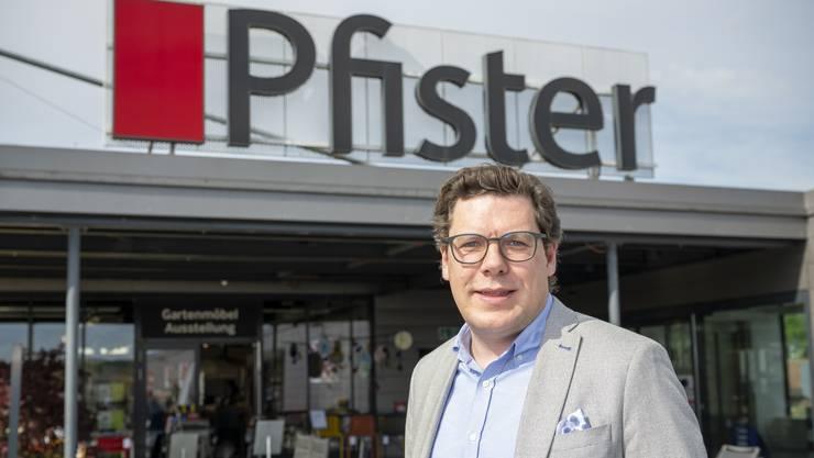 «Die Mitarbeiter freuen sich auf die Wiedereröffnung»: Pfister-Chef Paul Holaschke. Bild: Alex Spichale