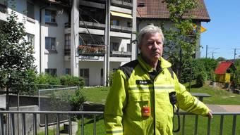 Martin Allemann, Kommandant der Feuerwehr Stadt Solothurn wird sich auf Ende Oktober 2017 vorzeitig pensionieren lassen.