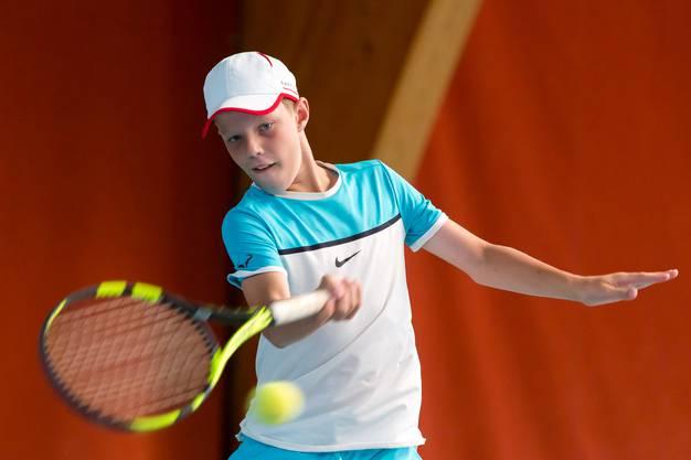 Janis Simmen gibt auf dem Weg zum Turniersieg keinen Satz ab