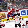Die amerikanische National Hockey League (NHL) hofft auf die baldige Wiederaufnahme des Spielbetriebs nach Ende der Coronakrise. (Archivbild)