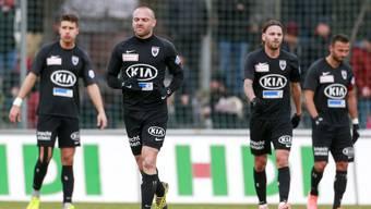 Fussball, Challenge League, 21. Runde, FC Aarau - FC Vaduz (9.02.20)