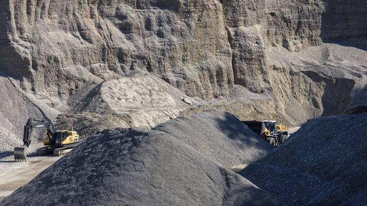 Die Kiesgrube Mühlerain soll erweitert werden, damit die Bürgergemeinde Deitingen weiterhin Kies abbauen kann.