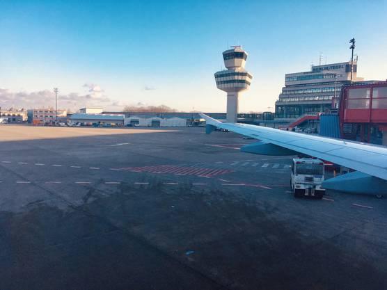Zürich–Berlin retour: Die Flüge sind unzählig.
