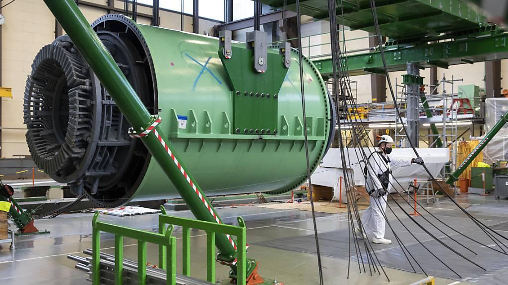 Über 3500 Tonnen Material im Atomkraftwerk Mühleberg demontiert