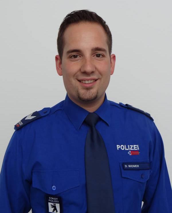 Dionys Widmer, Mediensprecher der Stadtpolizei St.Gallen