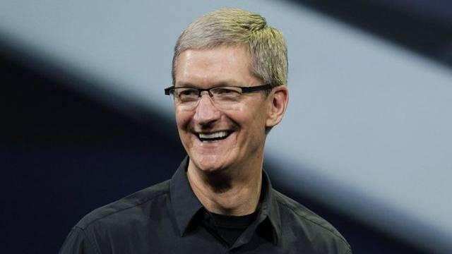 Tim Cook gibt sich genauso geheimnisvoll wie sein Vorgänger Steve Jobs (Archiv)
