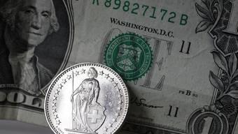 Erneute Parität: 1 US-Dollar kostet 1 Franken.