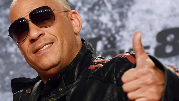 US-Schauspieler Vin Diesel ist Action-Star und auch kein schlechter Rapper. (Archivbild)