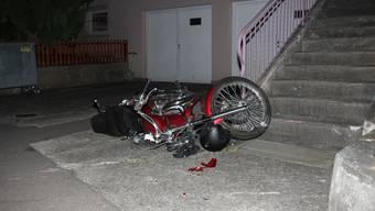 Tödlicher Motorradunfall in Etzgen