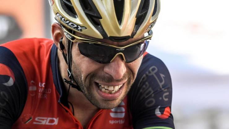 Vincenzo Nibali, der Sieger der ersten Bergetappe der Vuelta 2017