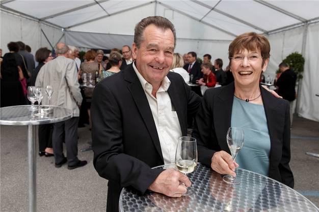 Eingefleischte Opernfans sind Hanspeter Schüriger und Susi Locatelli aus Dotzingen. Sie hörten Carreras bereits bei seinem ersten Auftritt in Solothurn.