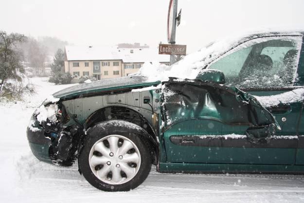 Dieser Autofahrer hatte in Lüsslingen Pech