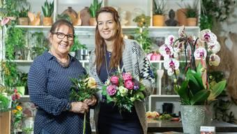 Yvonne Bachofner hat in ihrer einstigen Lehrtochter Manuela Perrone die richtige Nachfolgerin gefunden.